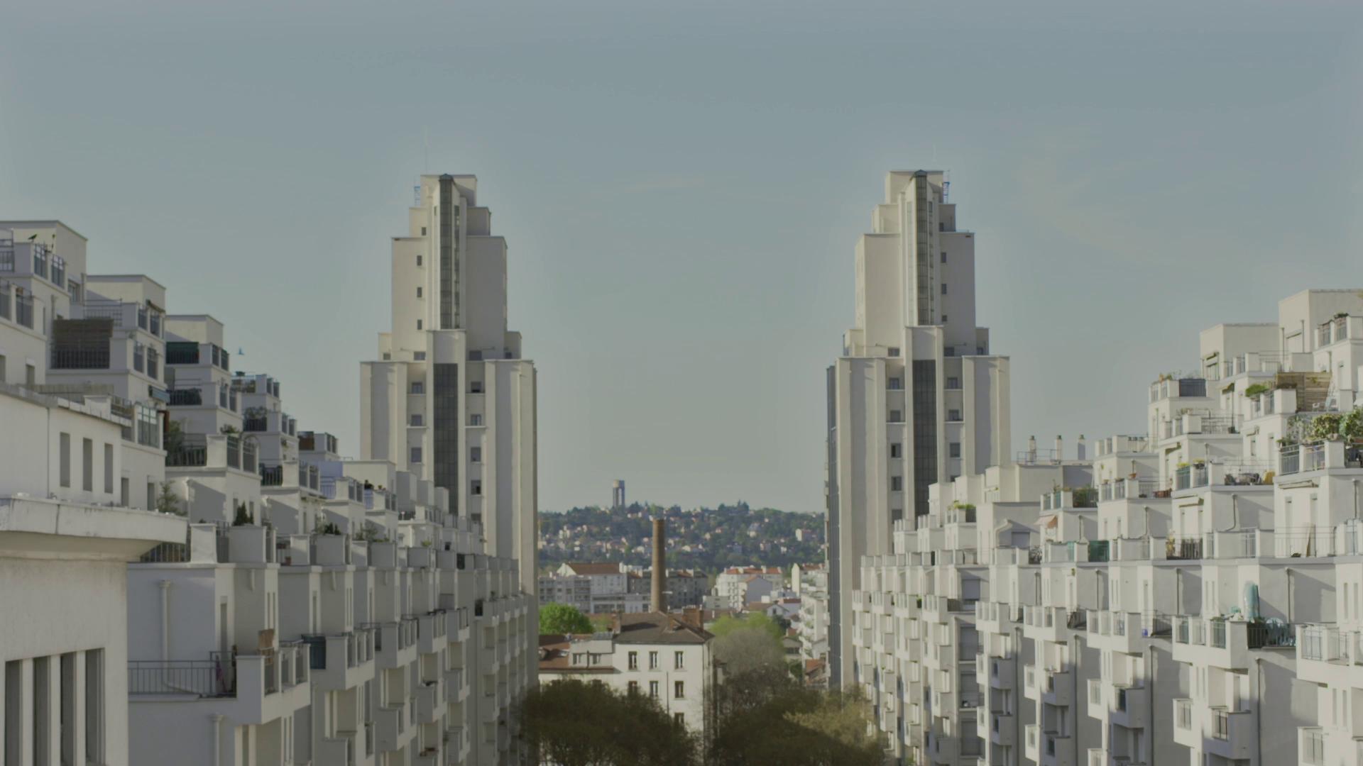 Villeurbanne, quartier Gratte-Ciel : Gratte-Ciel de Sacha Wolff